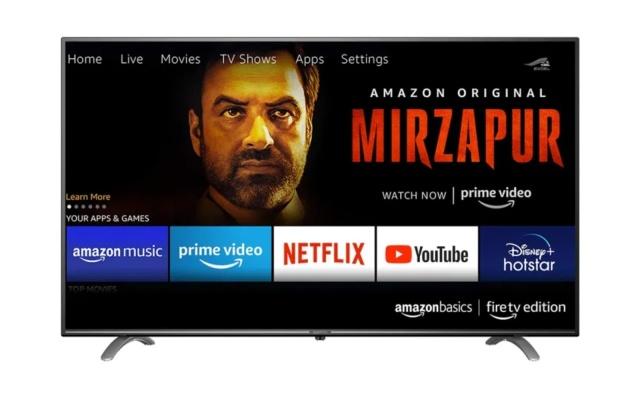 Amazon lancia le sue TV da 55 e 50 pollici in India, si parte da 330 euro circa