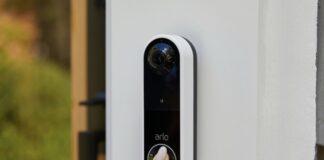 Arlo presenta Essential Video Dorbell campanello senza fili con sirena e visione 1:1