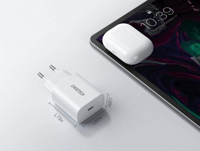 Choetech J-Q5004, caricabatterie USB-C da 20W in sconto a 12,74 euro