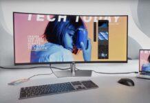 Dell UltraSharp 40 Curved WUHD è un monitor da 40″ con Thunderbolt e risoluzione 5K2K/WUHD
