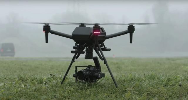 Al CES 2021 Sony mostra per la prima volta Airpeak, il drone dedicato ai filmaker