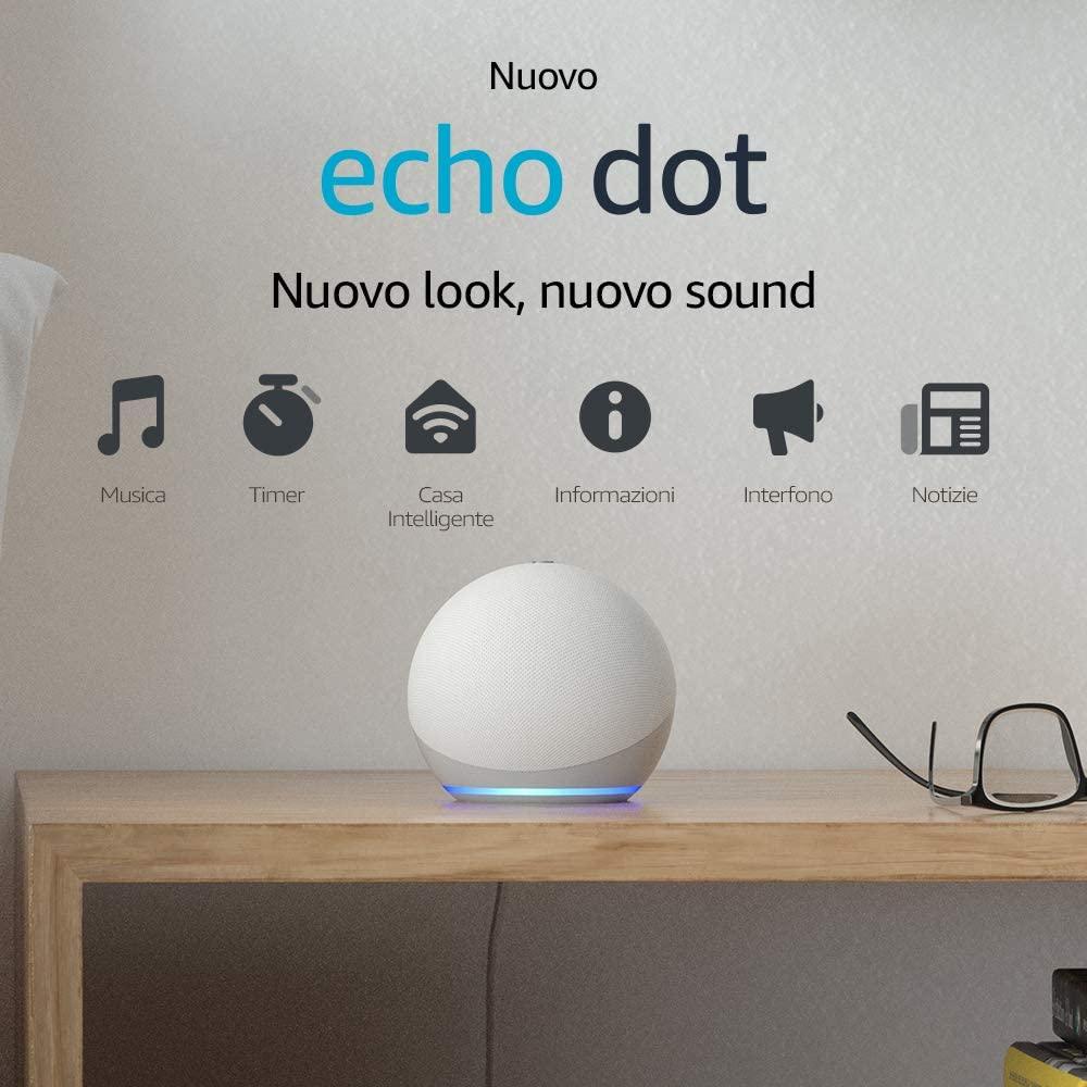 Amazon Echo Dot: super sconto a 29,99 €
