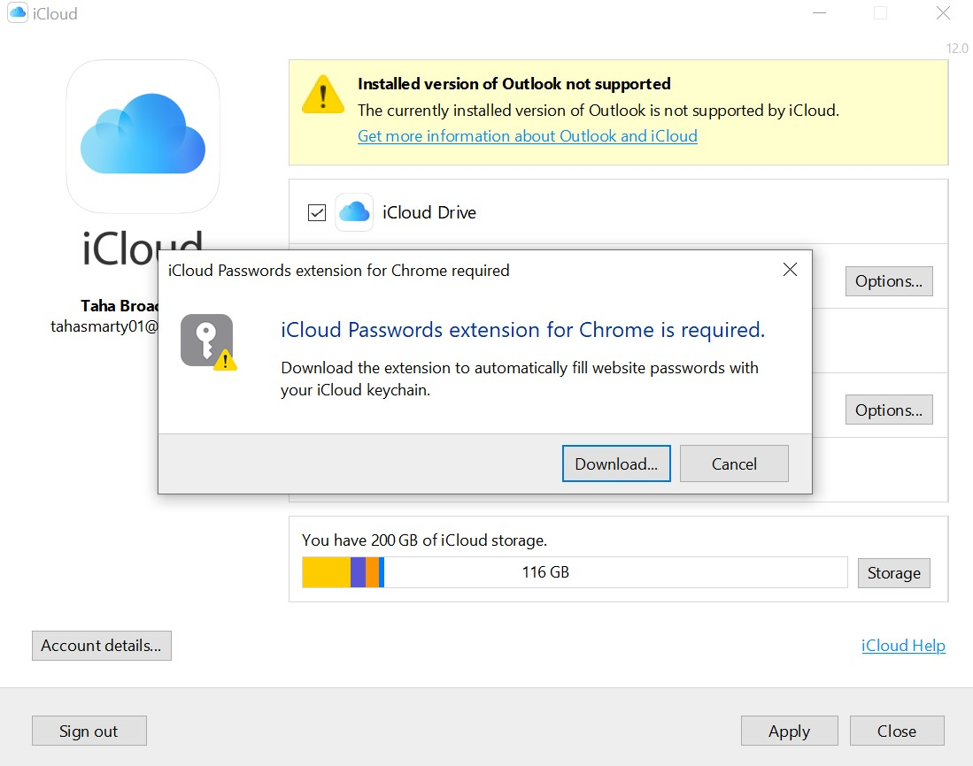 iCloud per Windows ora con supporto per l'estensione iCloud Passwords