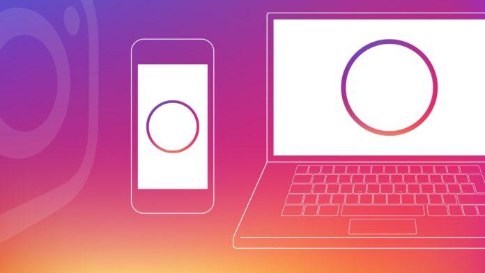 Instagram testa il nuovo design per le storie sul desktop