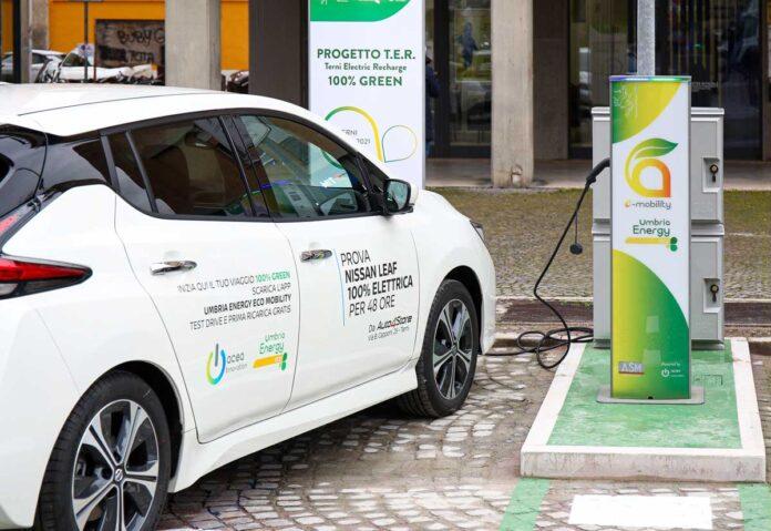 A Terni partnership per la mobilità elettrica tra Umbria Energy, Acea Innovation e Nissan