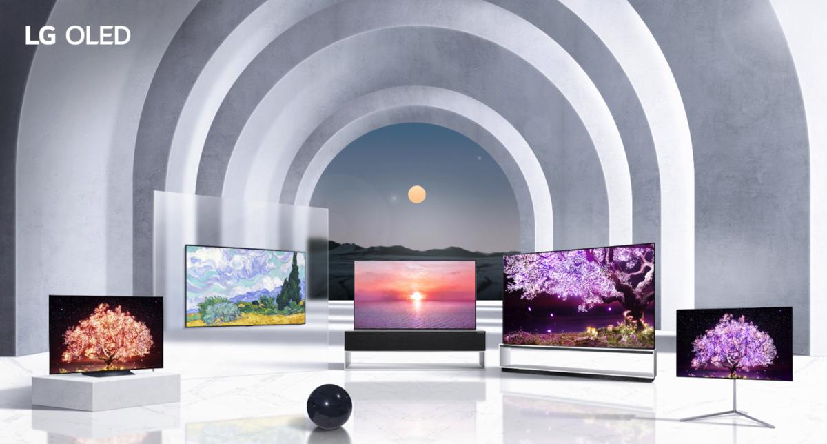 Nuova gamma di televisori LG presentata al CES 2021