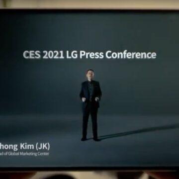 LG Rollable, il telefono arrotolabile debutta al CES 2021