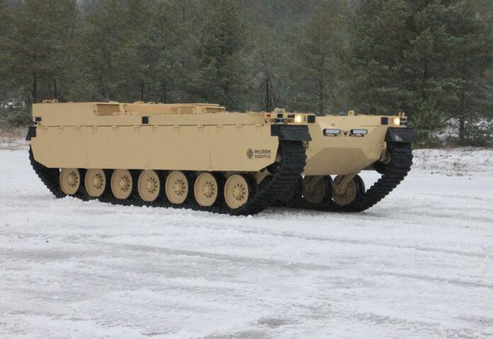 Milrem Robotics Type-X è un veicolo robotico e autonomo da combattimento