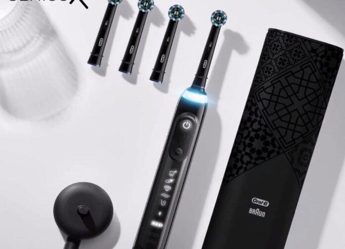 Oral-B Genius X Luxe Edition, spazzolino Smart con AI