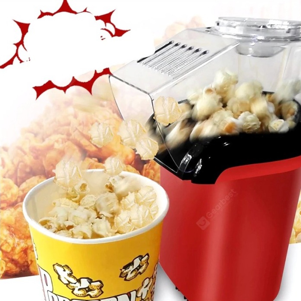 A casa come al cinema con la mini macchina per pop corn automatica