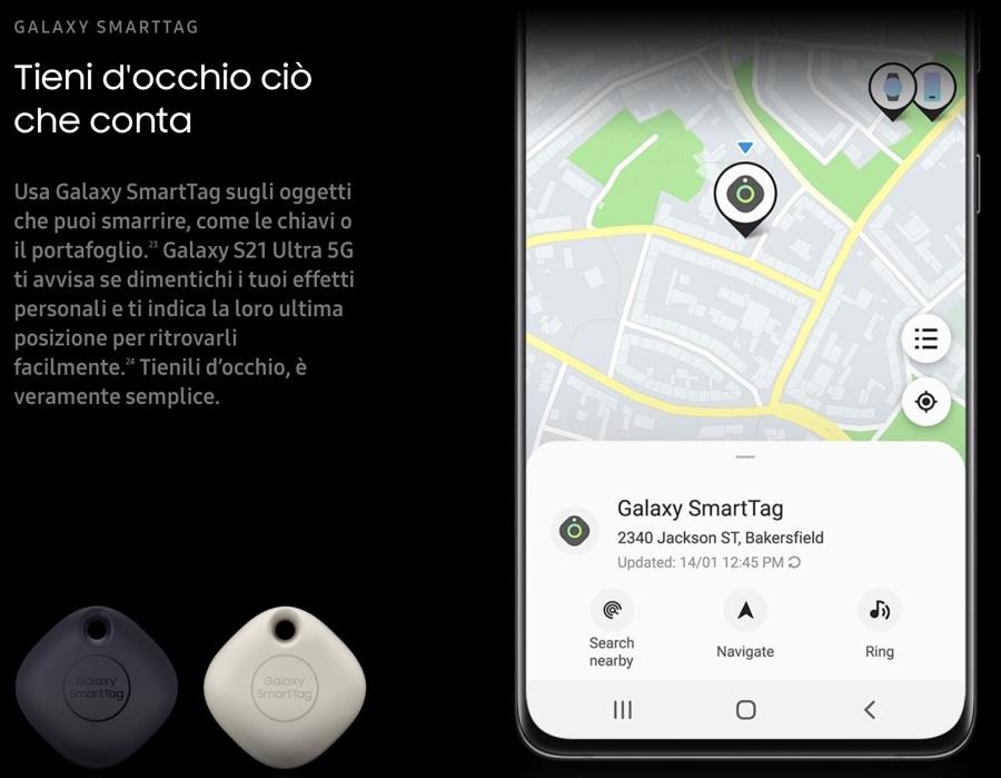 Samsung Galaxy SmartTag anticipa Apple: è già disponibile