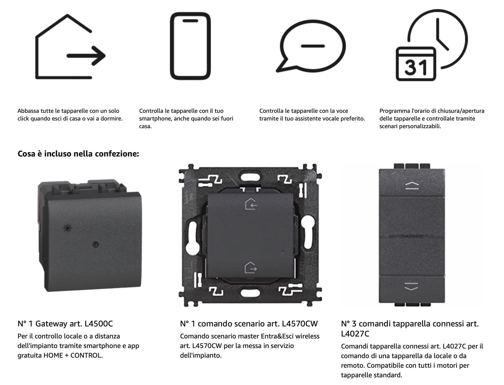 I Kit #Smartizzalo di Bticino portano il vostro impianto Living Light, Tech e Living International nella smart home con Homekit e Amazon Alexa
