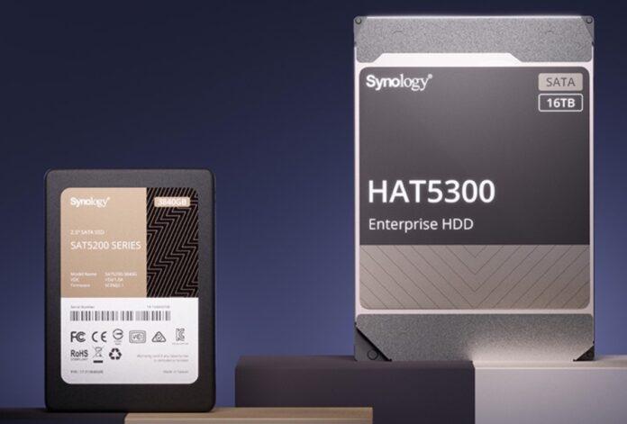 Synology svela le unità RackStation e gli hard disk HAT5300