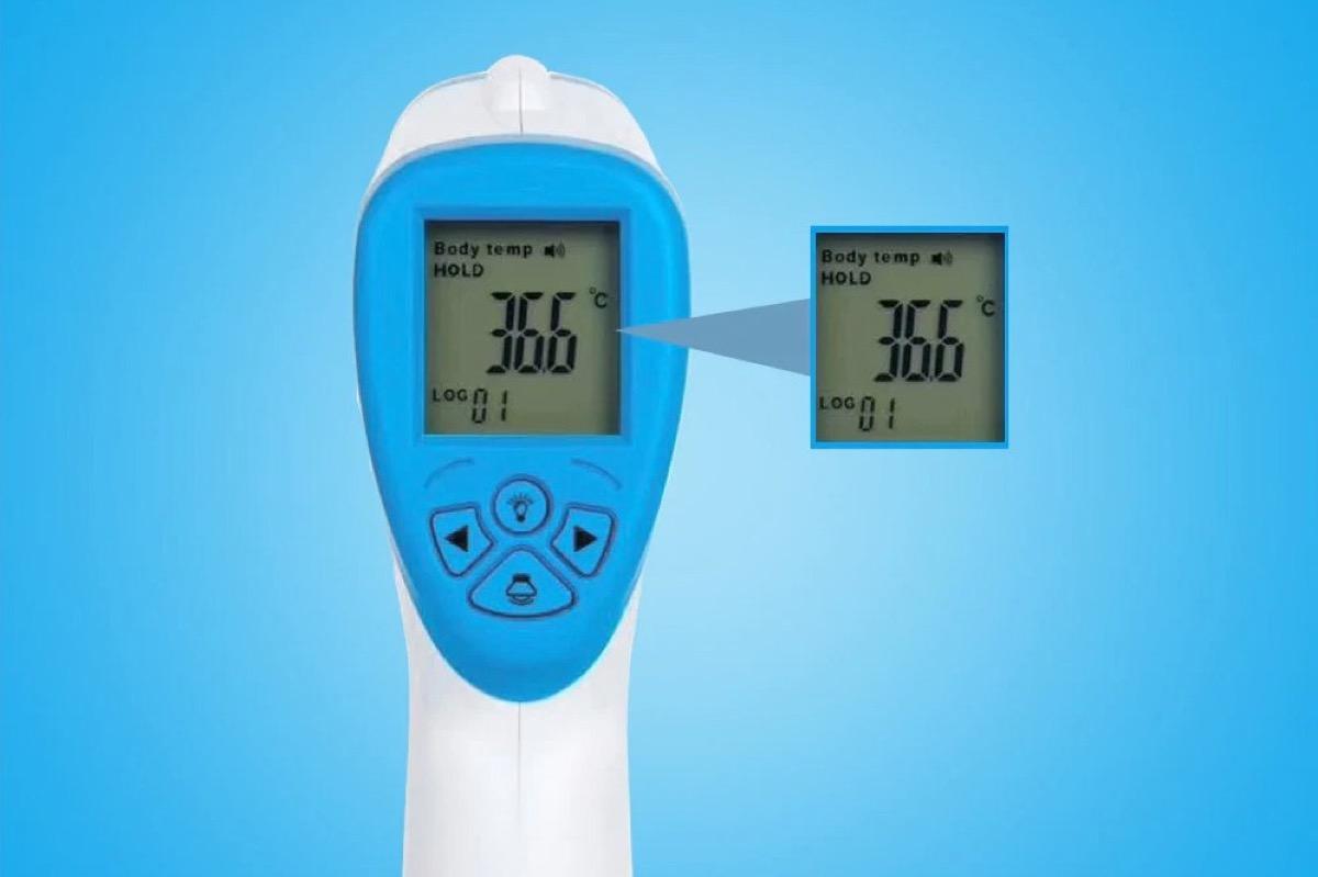 Solo 8 € termometro a infrarossi senza contatto con coupon esclusivo
