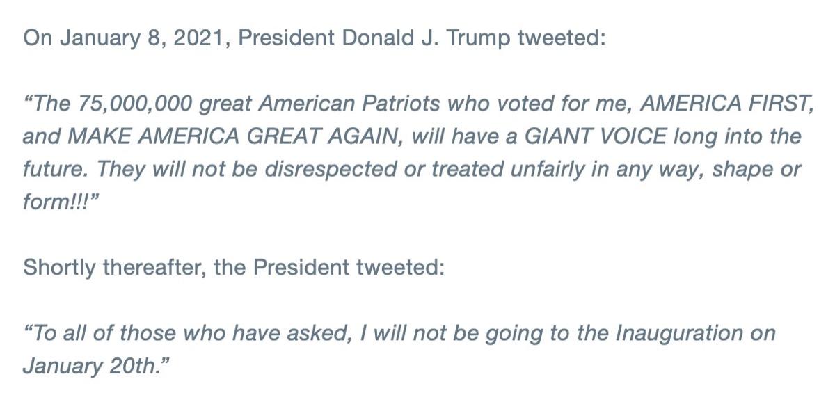 twitter contro trump sospeso account @realDonaldTrump