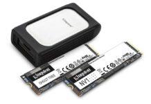 CES 2021, da Kingston nuova linea di SSD NVMe e un SSD esterno USB 3.2 Gen 2