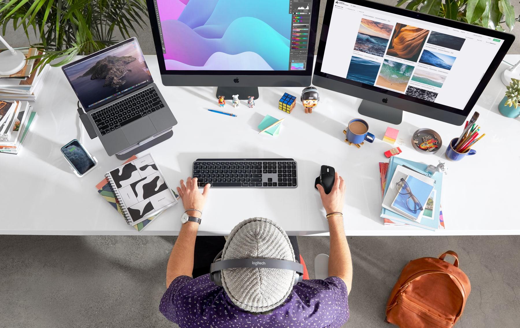 Logitech MX Keys, tastiera evoluta per Mac e iPad: minimo storico a 79,99€