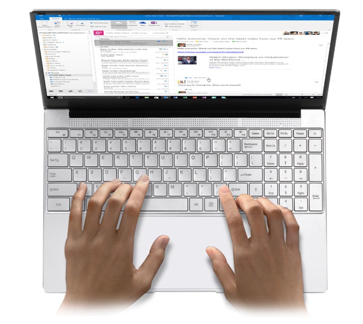Voyo VBook i7 Youth, portatile Windows 15.6″ 8+512GB a 356 euro