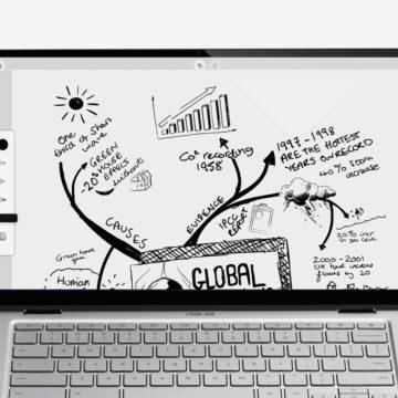 One by Wacom porta penna e tavoletta sui Chromebook
