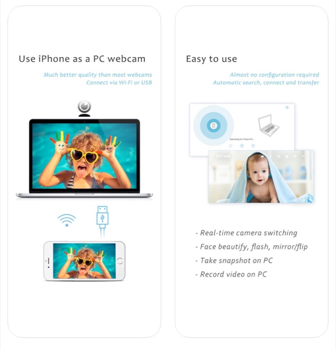 Come trasformare iPhone in webcam: le app