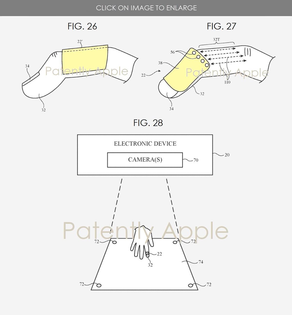 Un accessorio Apple da fissare al dito per controllare visori AR/VR