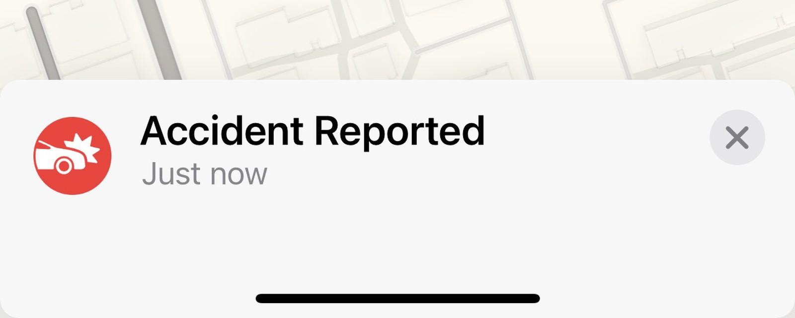 Con l'app Mappe di iOS 14.5 è possibile segnalare traffico e incidenti come Waze