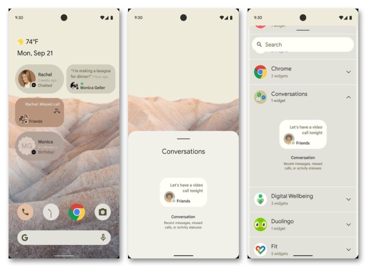 Android 12 in arrivo con funzioni per la privacy in stile iOS 14