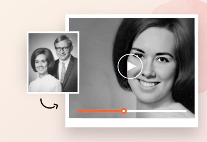 Inquietante tool di IA trasforma le foto di persone defunte in video