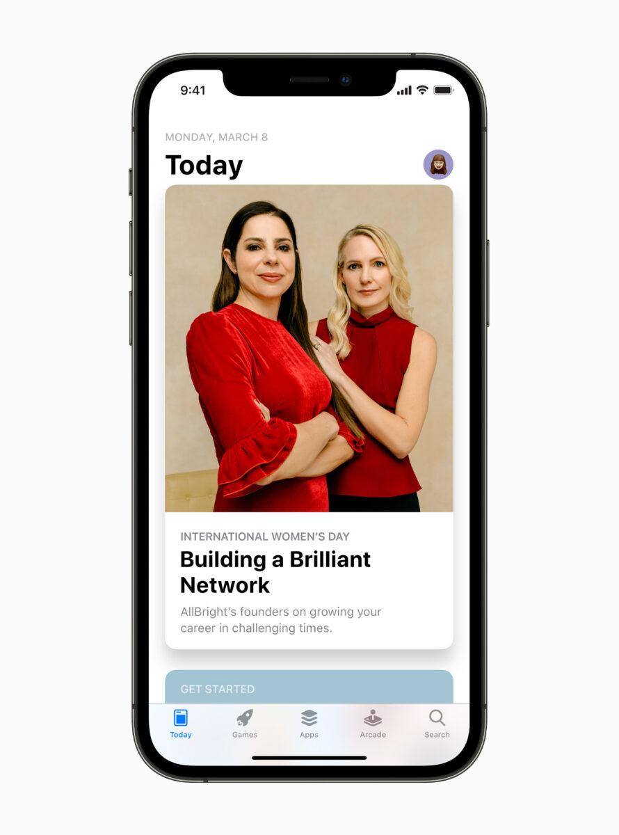 Apple celebra il Mese della storia delle donne e la Giornata internazionale della donna