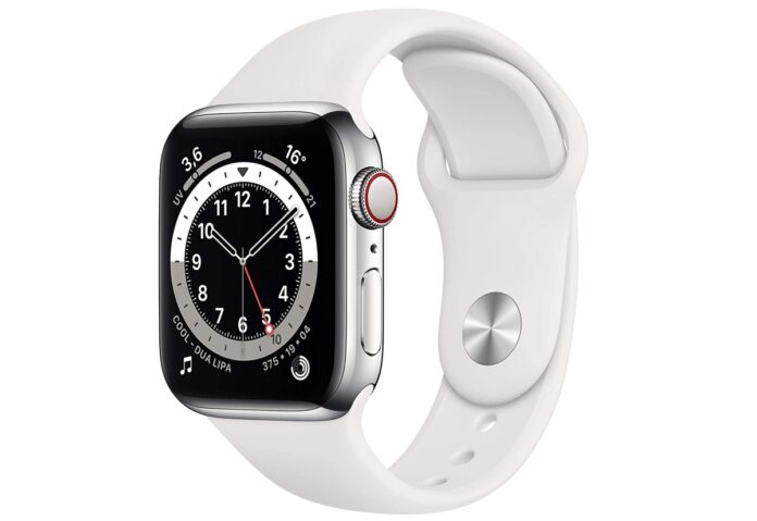 Apple Watch 6 Cellular in acciaio 40mm, minimo storico a 571€