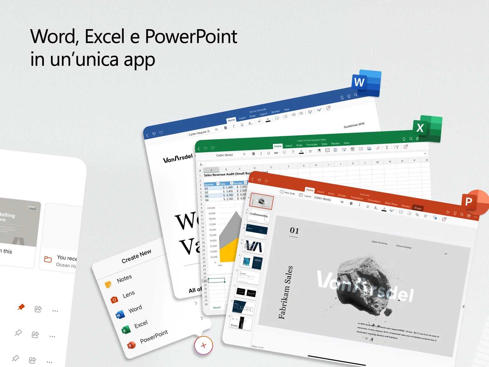 Microsoft Office ora disponibile come app unica su iPad