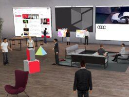 Telelavoro meno stressante con l'ambiente 3D di Audi