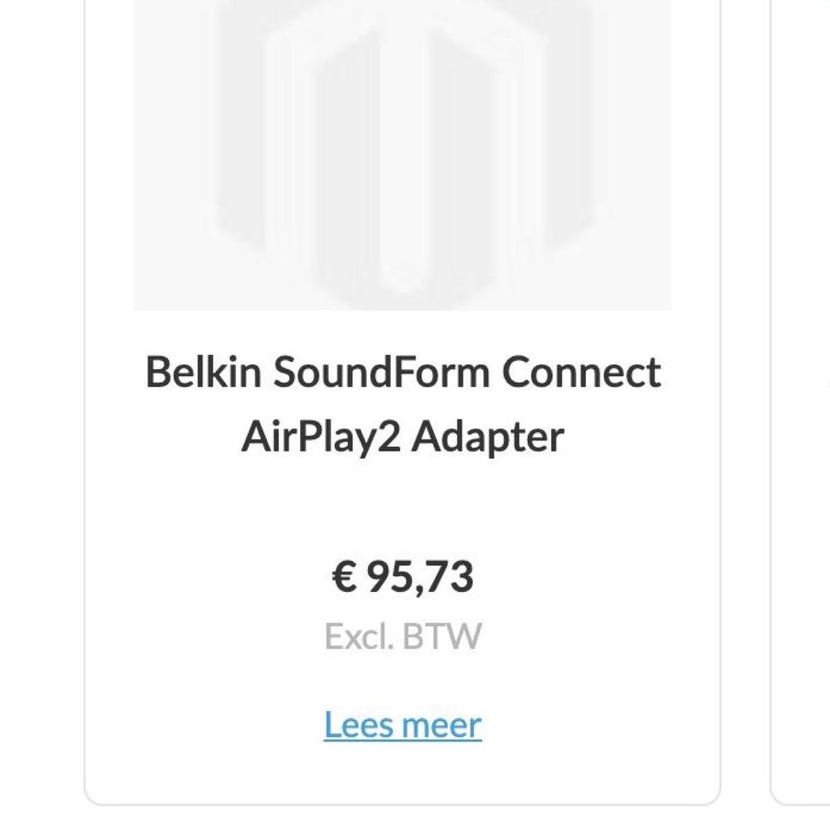 belkin adattatore audio airplay 2
