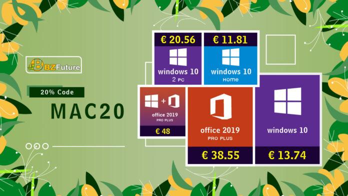 Solo 13 € la licenza a vita per Windows 10 Pro grazie ad un coupon dedicato