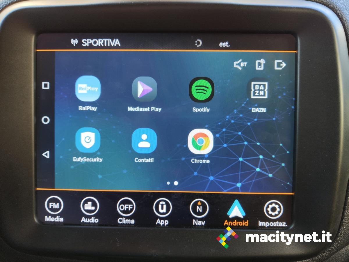 Recensione CarDongle, Android e app Google in auto