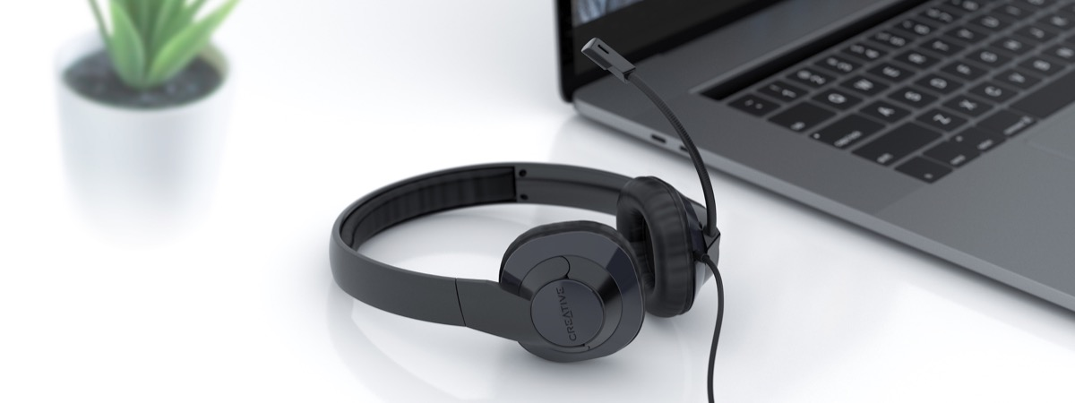 Creative HS-720 V2, le cuffie pensate per lo smart working