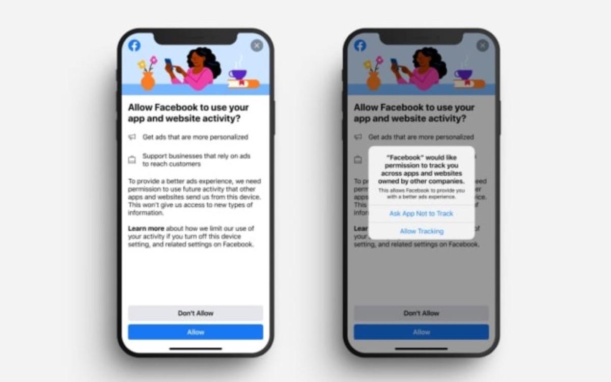 Facebook chiede agli utenti di attivare il monitoraggio delle attività prima delle modifiche a iOS 14