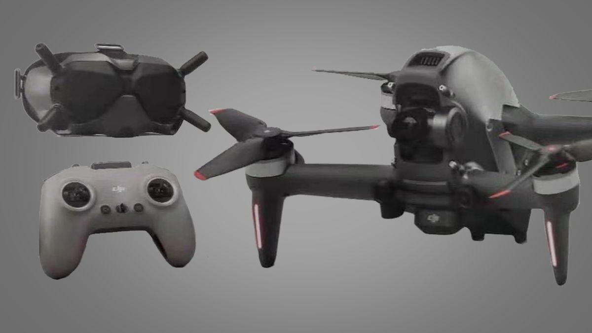 Svelato il drone racing FPV di DJI da 150 km/h