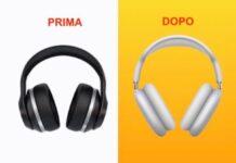 Apple cambia l'emoji delle cuffie in stile AirPods Max