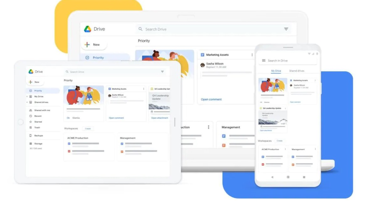 Google rilascerà una sola app per gestire Google Drive