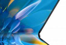 Il nuovo pieghevole Huawei Mate X2 arriva il 22 febbraio, ecco la prima foto