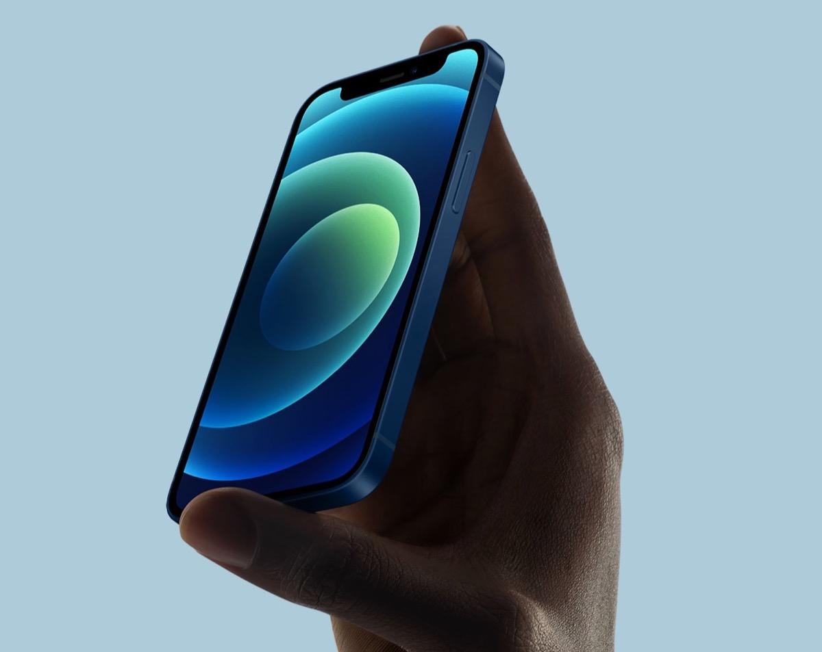 iphone 12 mini vendite 5%