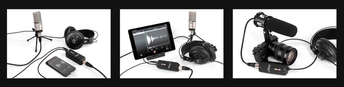 iRig Pre 2, interfaccia portatile per microfono compatibile con iPhone e iPad