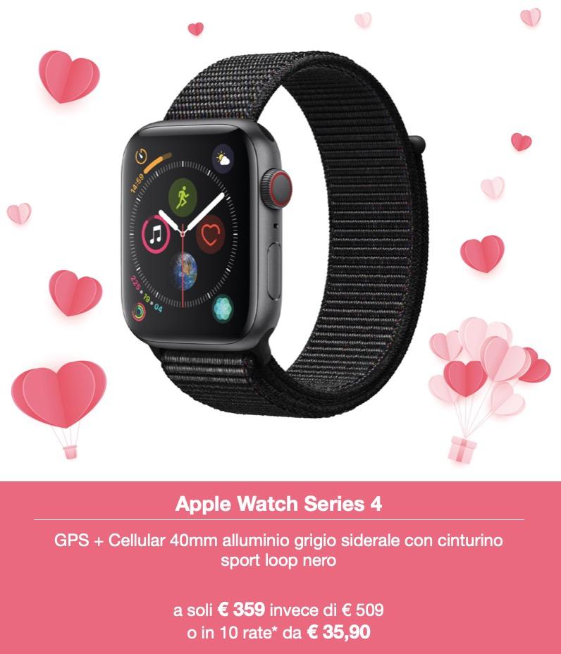 Da Juice i regali per San Valentino sono iPhone e Apple Watch in sconto