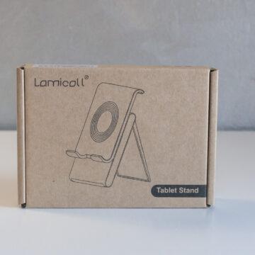 Recensione Lamicall Supporto Tablet, più comodo che bello