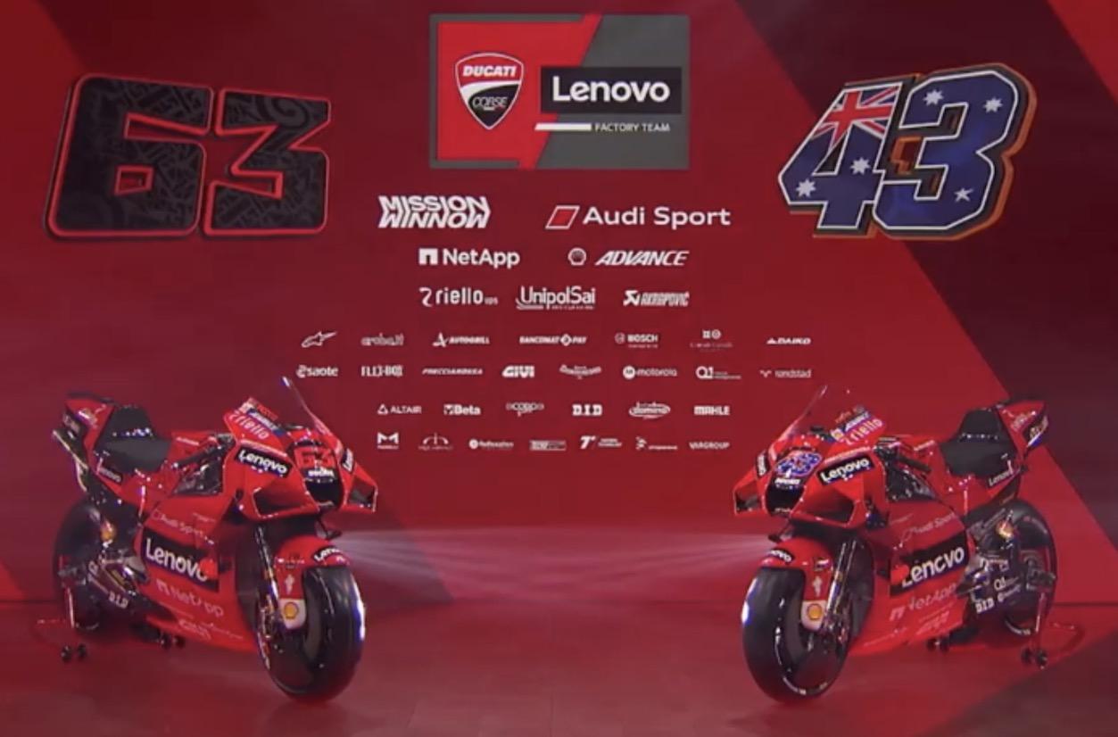 La tecnologia Lenovo sposa la grinta Ducati nel Ducati Lenovo Team MotoGP