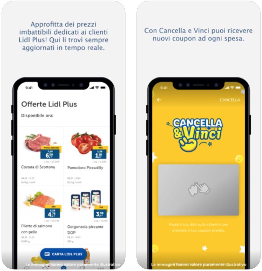 Lidl Plus arriva in Italia con le app per iPhone e Android