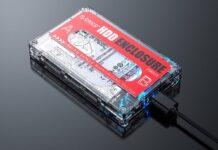 L'hard disk diventa musicassetta: la custodia vintage Orico USB 3.0 per HDD e SSD costa solo 5 €