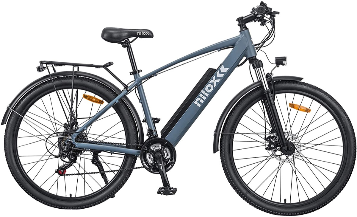 Nilox X7, bicicletta elettrica ibrida solo oggi a 350 euro in meno