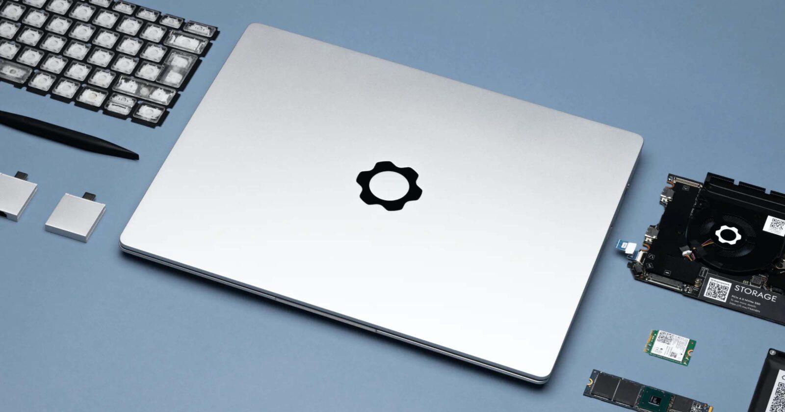 Framework è nuovo portatile aggiornabile e riparabile senza problemi